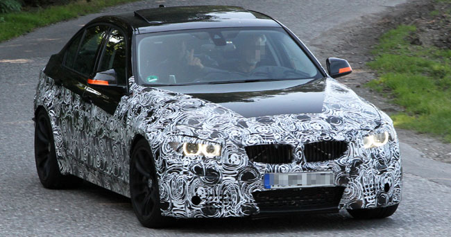 Next Generation BMW M3 Caught Testing!