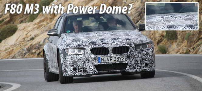 Next Generation F80 M3 Sedan Spied with Power Dome