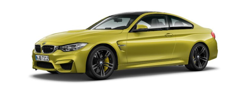 2015 BMW M4 Coupe in Austin Yellow Metallic
