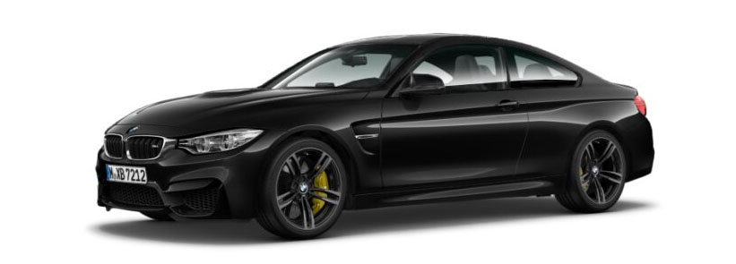 2015 BMW M4 Coupe in Black Sapphire Metallic