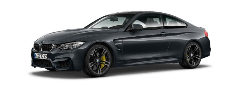2015 BMW M4 Coupe in Mineral Grey Metallic