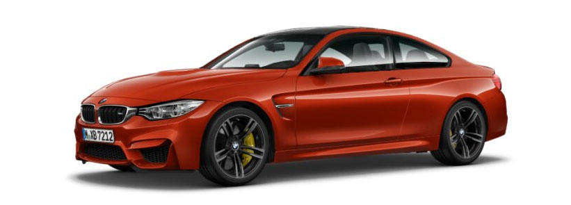 2015 BMW M4 Coupe in Sakhir Orange Metallic