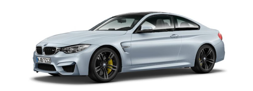 2015 BMW M4 Coupe in Silverstone Metallic
