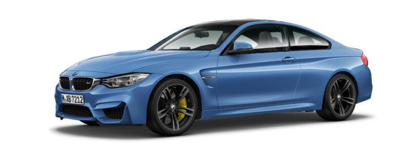 2015 BMW M4 Coupe in Yas Marina Blue Metallic