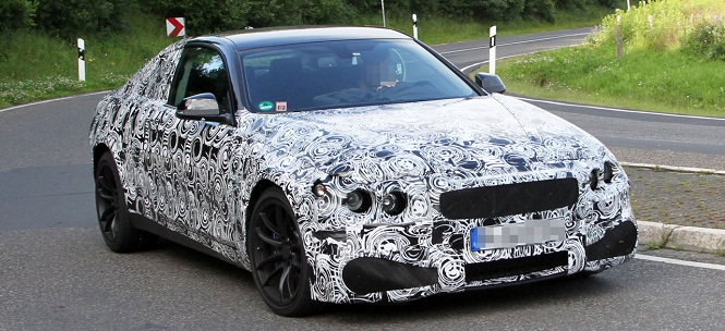 Replacement for BMW M3 Coupe- The M4 - Spied Testing