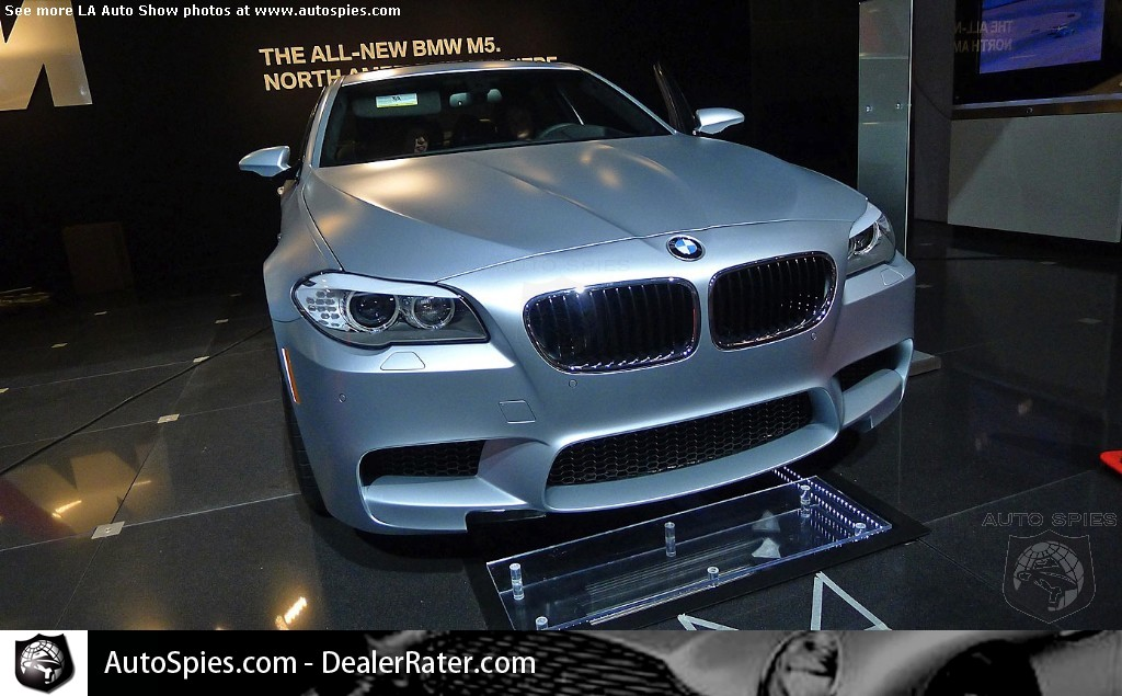 2012 BMW M5 at the LA Auto Show