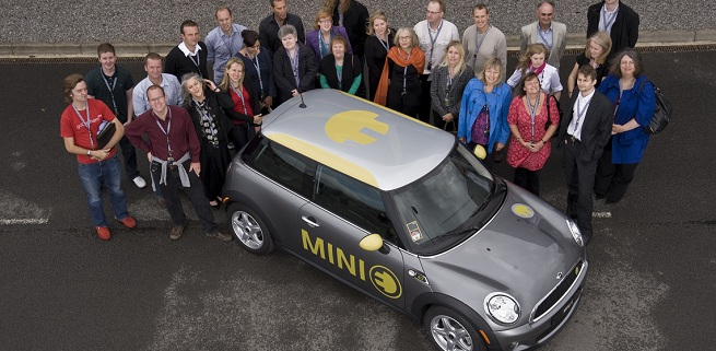BMW's electric car project 'Megacity' gets positive results with MINI E in the UK