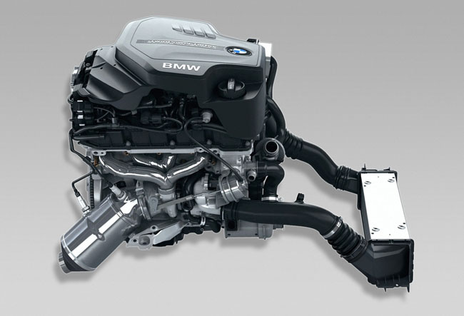 BMW 4-cylinder 2.0-liter TwinPower Turbo N20  Motor
