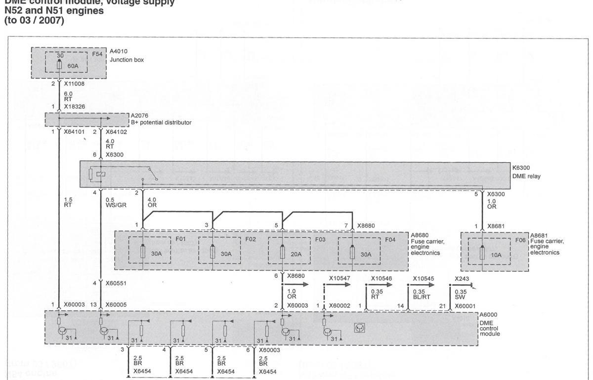 E83 Ecu Dme Connector Pin Diagram Bimmerfest Bmw Forum