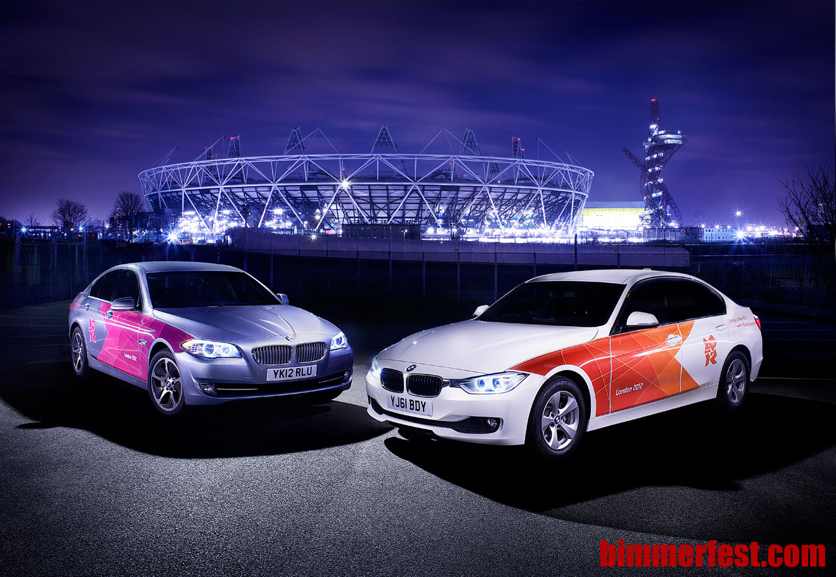 BMW's Olympic Fleet