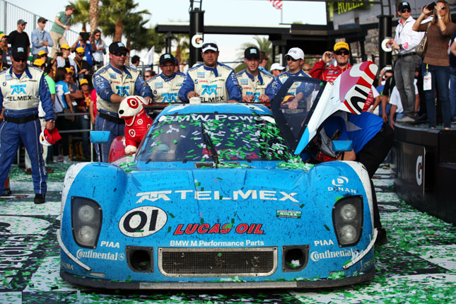 BMW Powers Chip Ganassi to Victory at Rolex 24 at Daytona