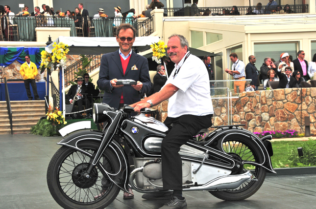BMW R7 Best in Class at 2012 Pebble Beach Concours d�Elegance