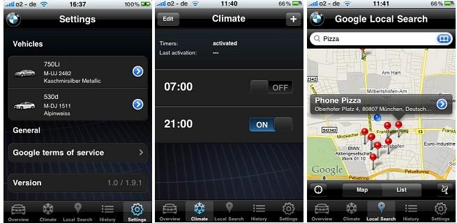 climate control in remote app? - Bimmerfest - BMW Forums