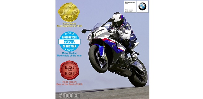 "BMW S 1000 RR Superbike Clinches Three ""Best of"" Honors"