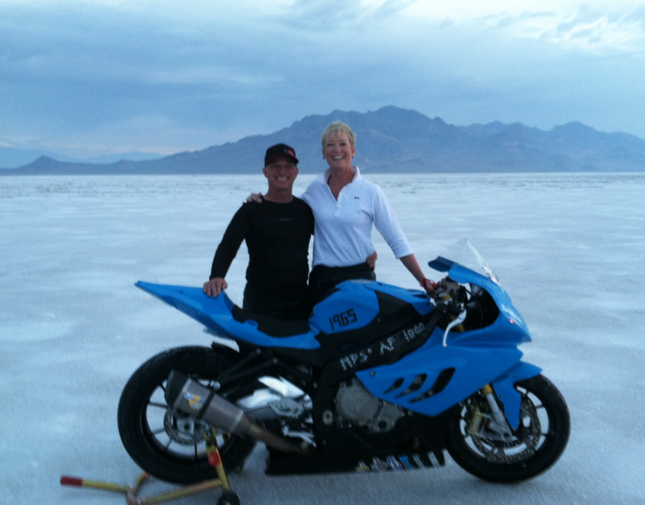 BMW S 1000 RR sets world speed record at Bonneville Salt Flats