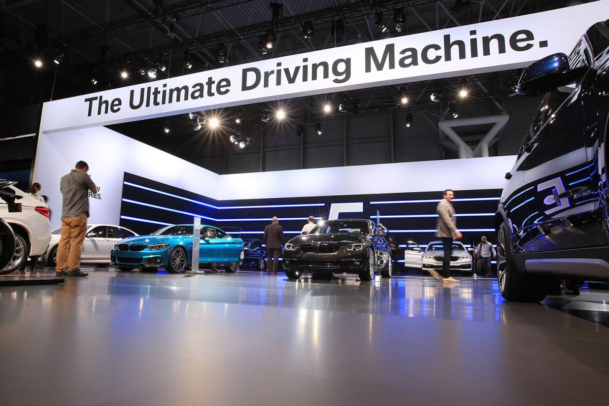 BMW at New York Auto Show 2017