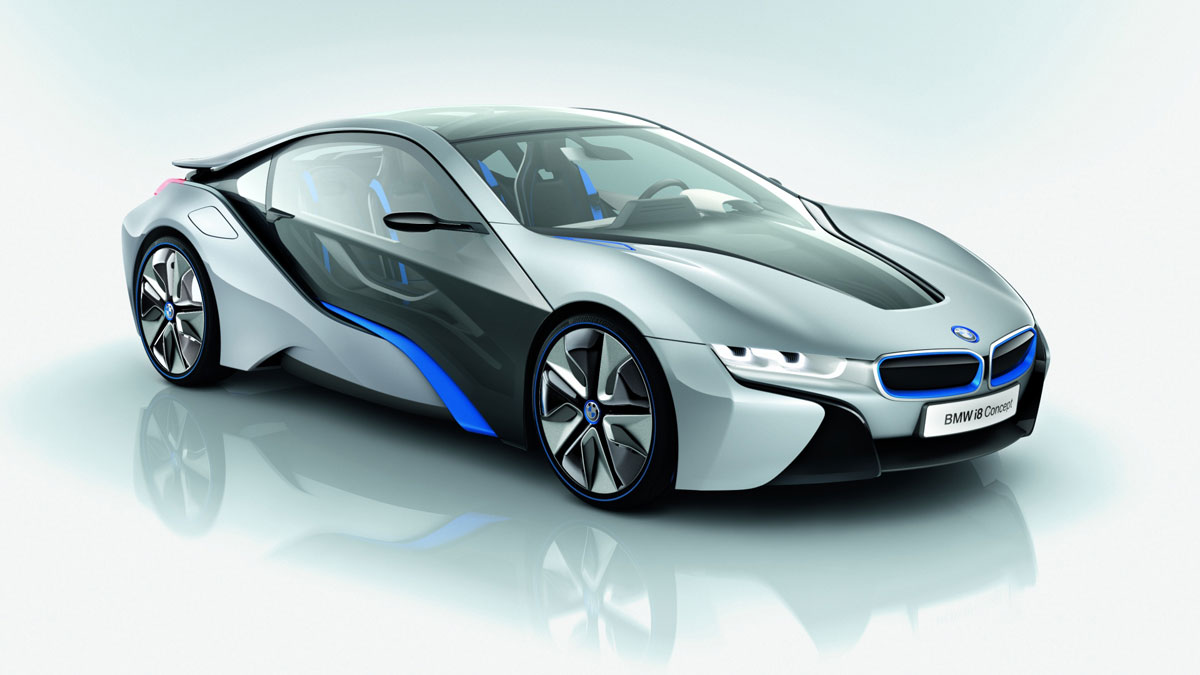 BMW i8 for Facebook billionaries