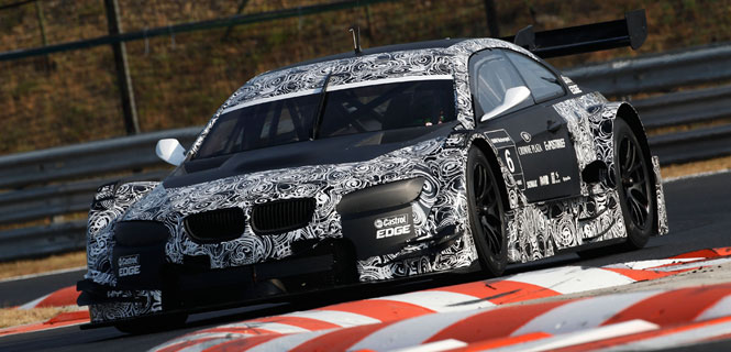 BMW DTM E92 M3 Testing at the Hungaroring
