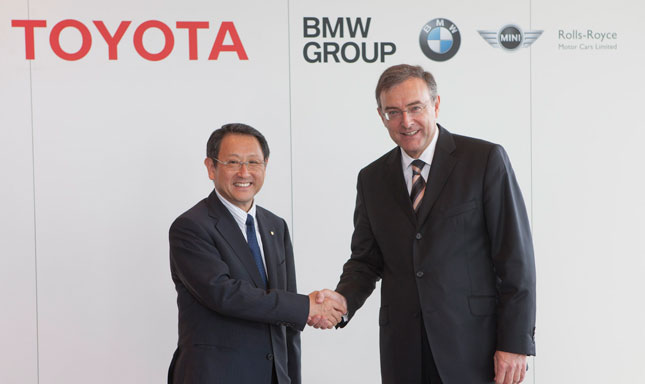 BMW and Toyota collaborate on fuel cells, power train, electric drive and lightweight tech