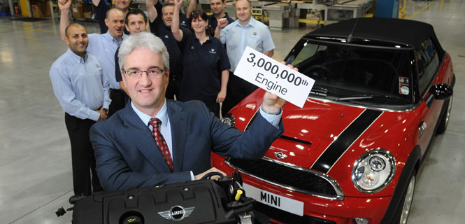 BMW UK builds 3 millionth engine