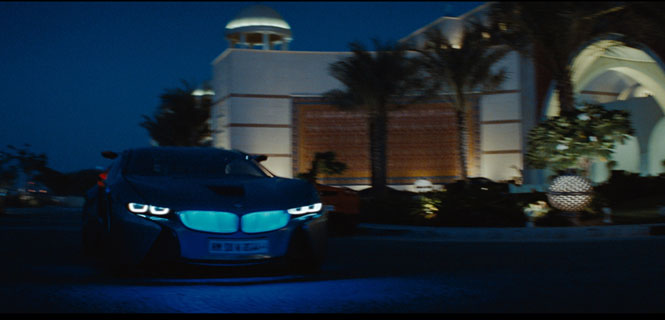 "BMW Vision EfficientDynamics in Paramount ""Mission: Impossible - Ghost Protocol"""
