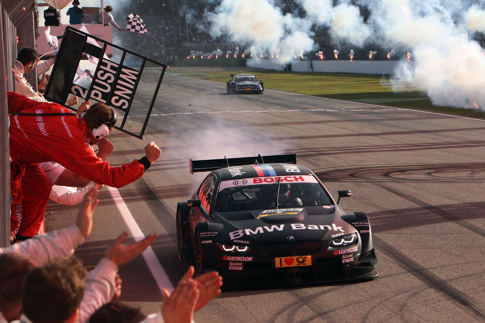 BMW M3 DTM race car