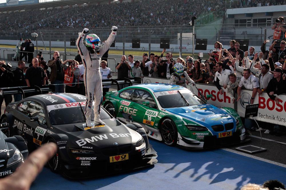 BMW wins the 2012 DTM title