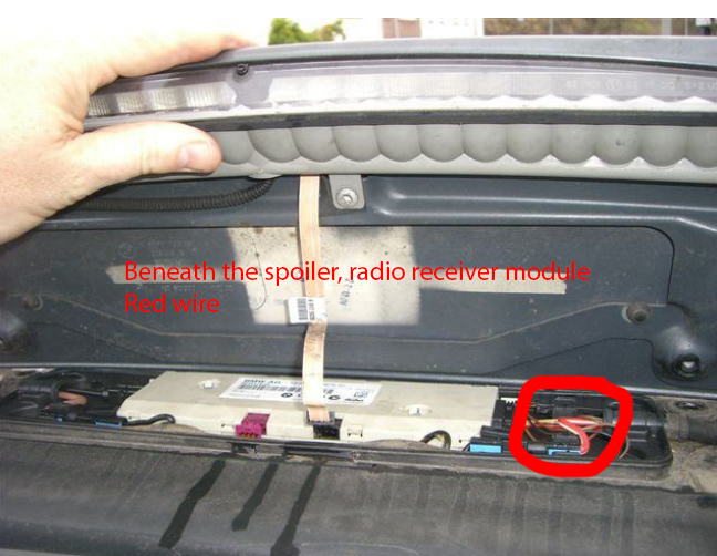 E39 Touring Tailgate Wiring Diagram