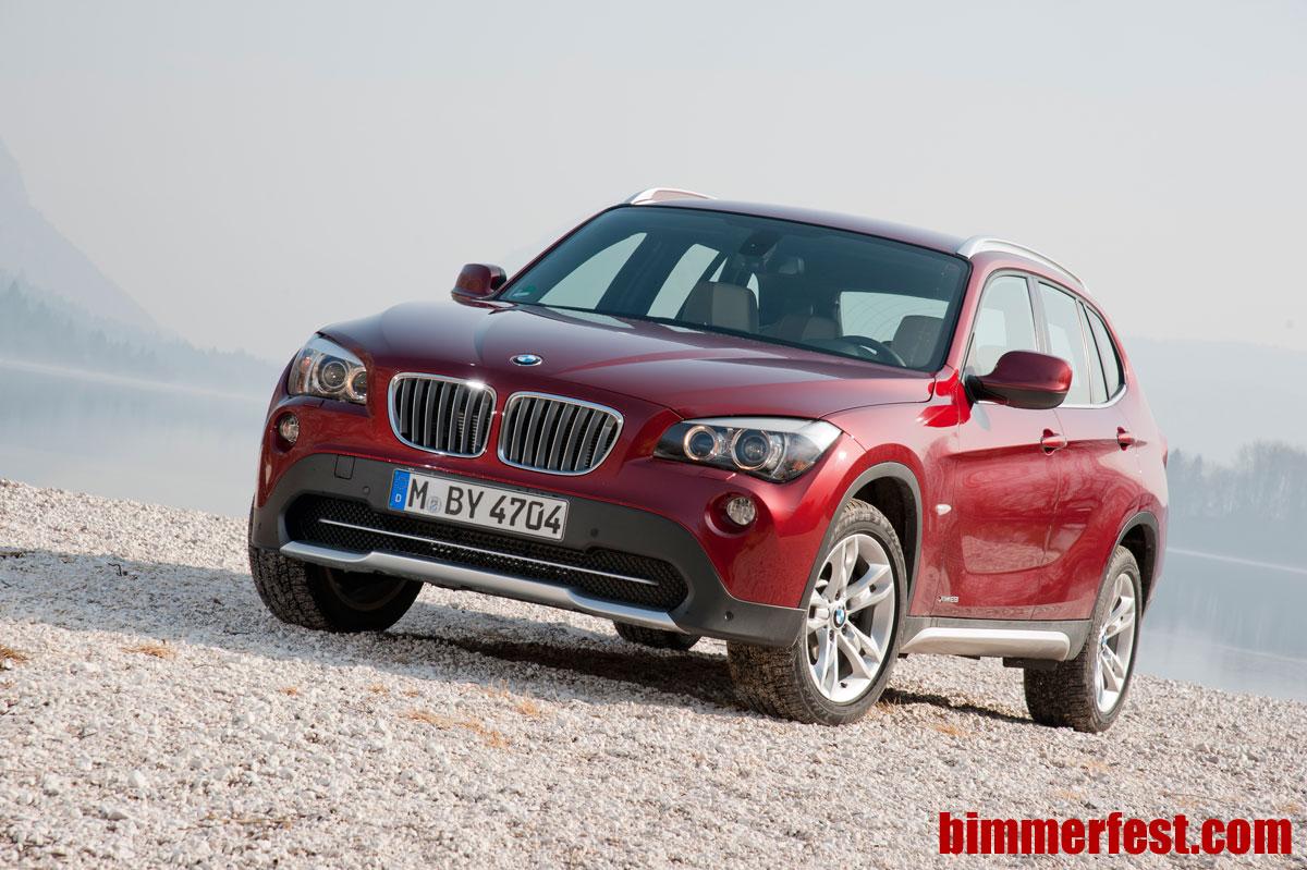 BMW X1 on sale in the US summer 2012