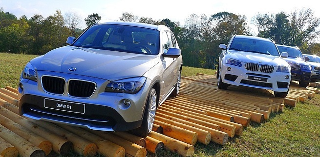 AutoSpies EXCLUSIVE: Real-Life Shots Of The BMW X1 On USA Soil