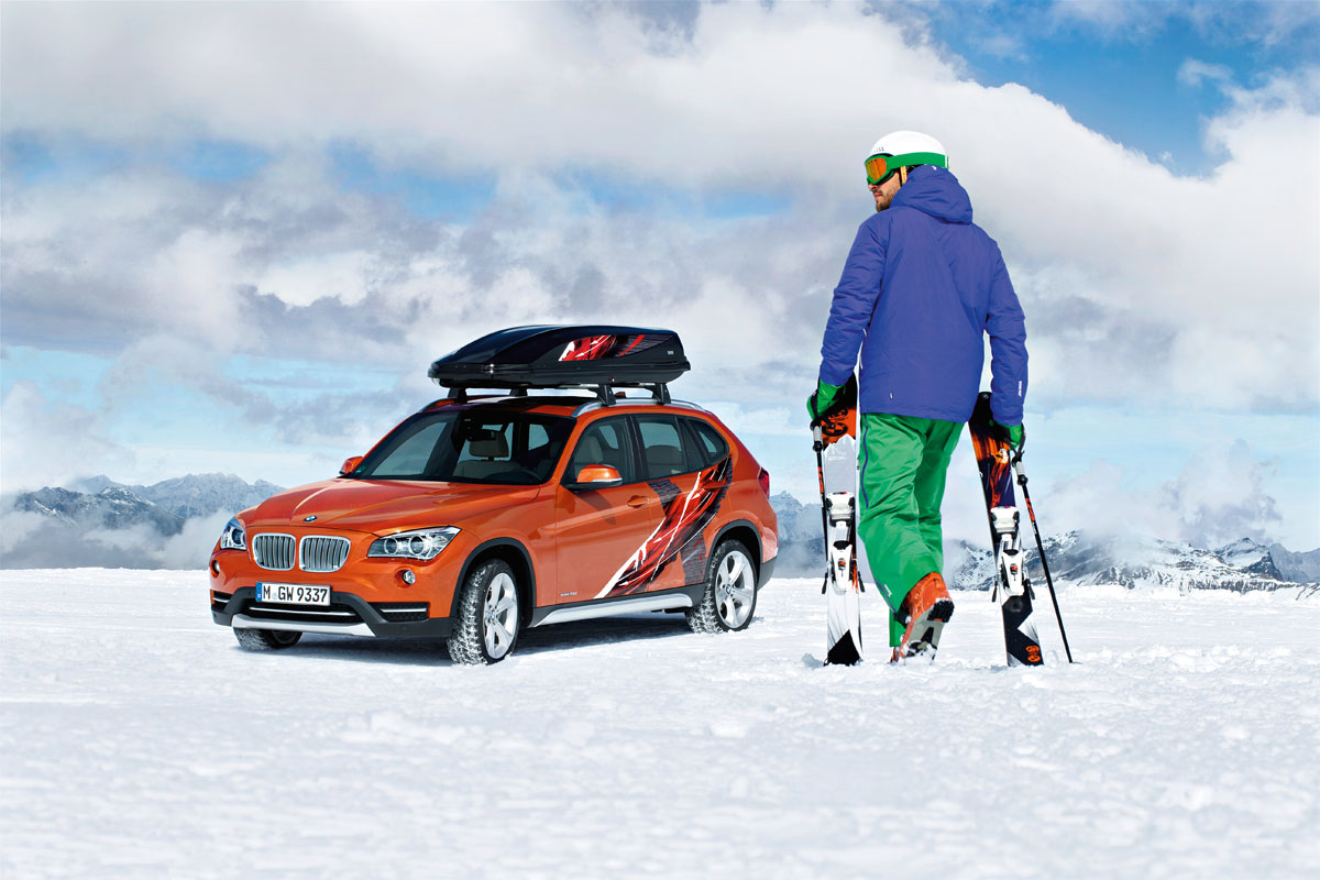 BMW X1 Limited Edition Powder Ride