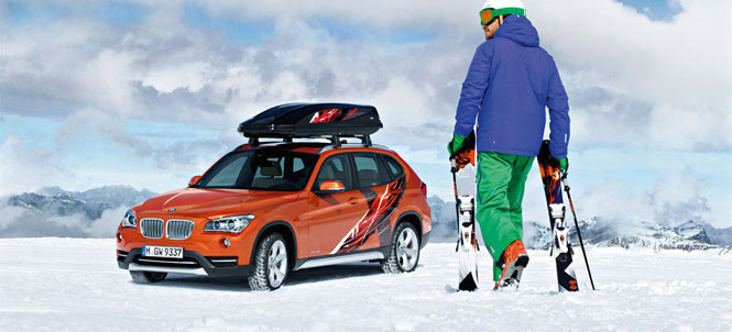 BMW Introduces the Limited Edition X1 Powder Ride