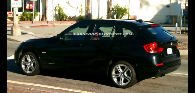 BMW X1 Spied in California - BMW stop teasing us as put it on sale already!