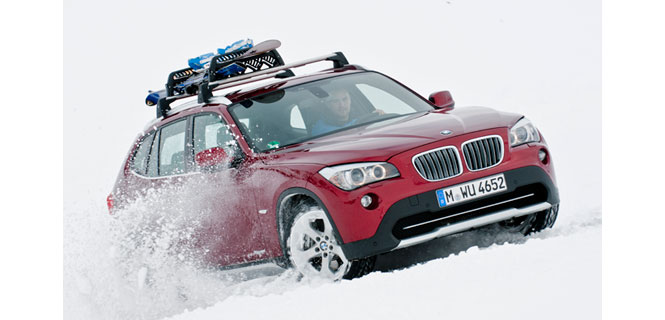 The new BMW X1 xDrive28i with BMW TwinPower Turbo