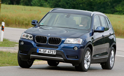 BMW X3 earns 5 stars in the Euro NCAP crash test