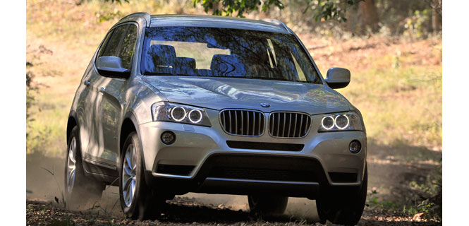"New BMW X3 voted ""Four-Wheel Drive Car of the Year 2011"""