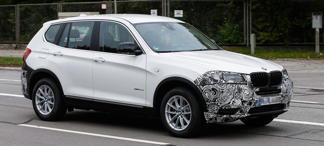 New Spy Shots of Upcoming F25 X3 Facelift
