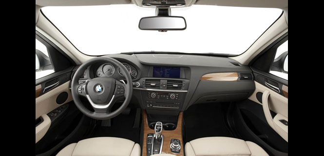 BMW X3 Makes Ward's 10 Best Interior List 2011