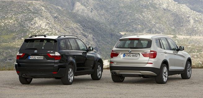BMW ends X3 (E83) production in Austria and begins X3 (F25) production in Spartanburg