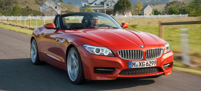 The New LCI 2014 BMW Z4