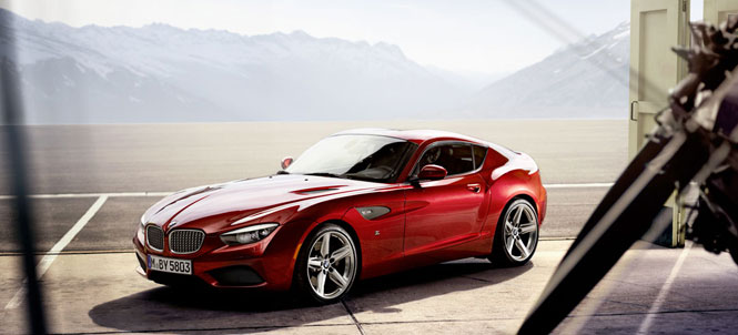 BMW Zagato Makes World Debut at 2012 Pebble Beach Concours