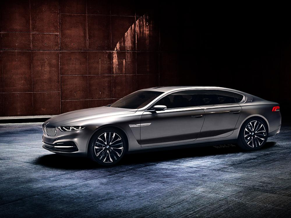 Luxury Vehicle: BMW 9 Series: Ultra Sedan Concept To Be Previewed At