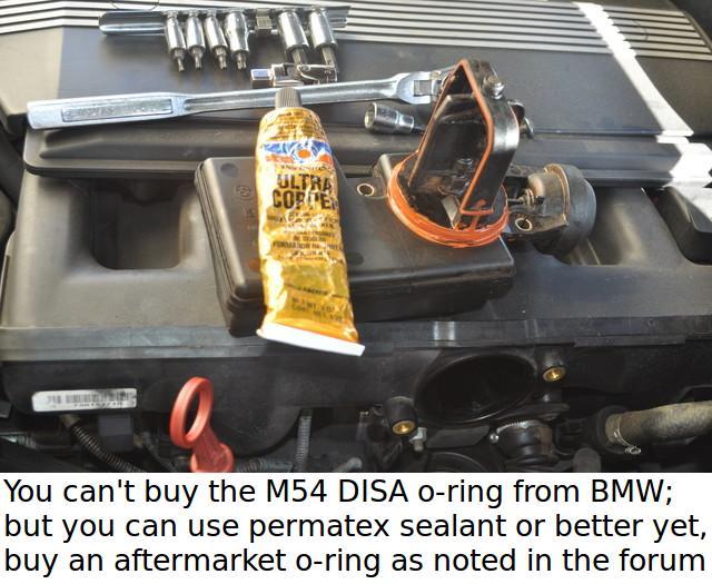 Car was throwing codes    DISA valve! - Bimmerfest - BMW Forums