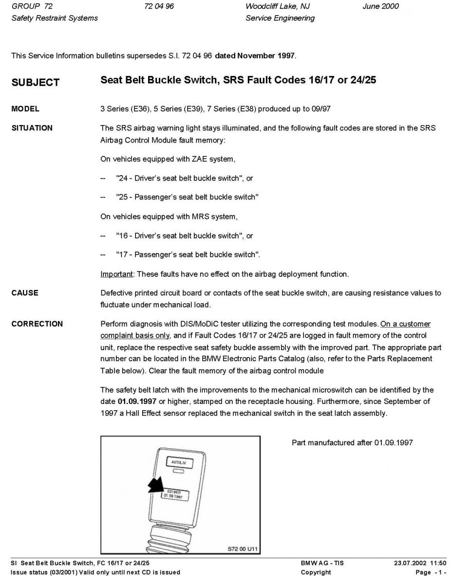 Drivers Seat Belt Replacement Diy Bimmerfest Bmw Forums 1994 5 Series Diagram Wiring Schematic