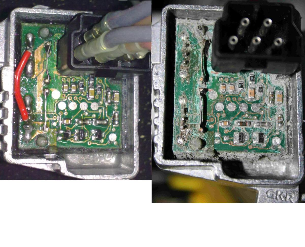 Failed Blower Resistor Final Stage Not Really Dead Page Bmw E39 528i Engine Diagram Notice The Elmos 10901d Integrated Circuit 16 Pin Surface Mount Chip Reputedly A Temperature Compensated Voltage Regulator