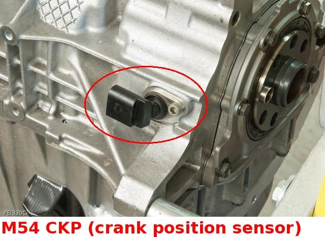 Missing CRANK position sensor!? - Bimmerfest - BMW Forums