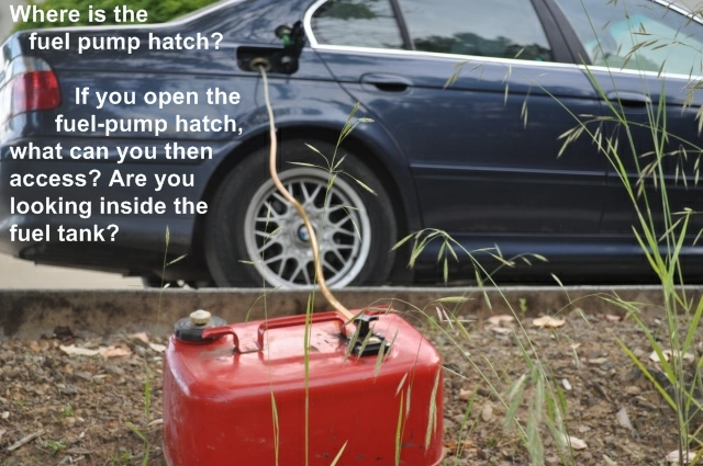 How To Siphon Gas >> How To Siphon Gasoline Out Of The E39 Into A Gas Can Bimmerfest