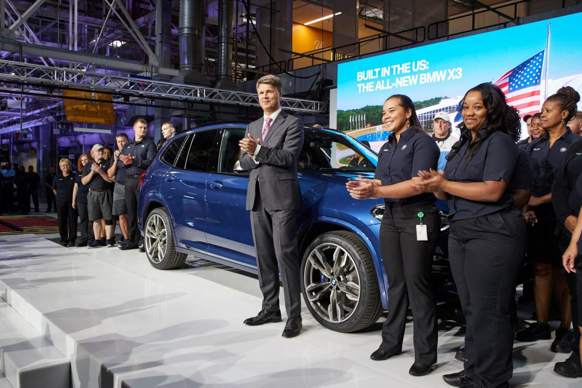 BMW X3 Event