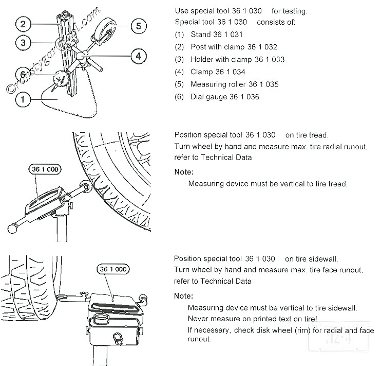 Where Is The Published Brake Disk Disc Lateral Runout