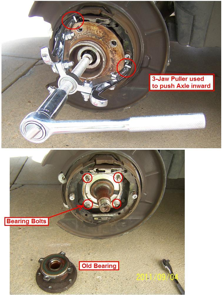 DIY: 1998 528i REAR Bearing the Easy Way! - Bimmerfest - BMW Forums